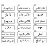 Ready-made Self-Inking ARABIC Message Rubber Stamp 30mm x 10mm