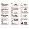 Customise Self-Inking NAME / MESSAGE Rubber Stamp (3cm x 1cm)