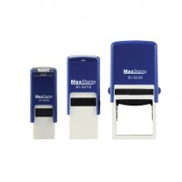 Customise MaxStamp SIngle Pad Self-Inking Flipping Stamp - Square (Assorted Sizes Available)