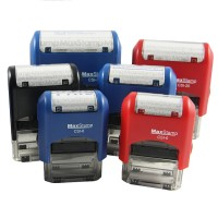 MaxStamp Self-Inking Flipping Stamp - RECTANGLE (Assorted Sizes Available)